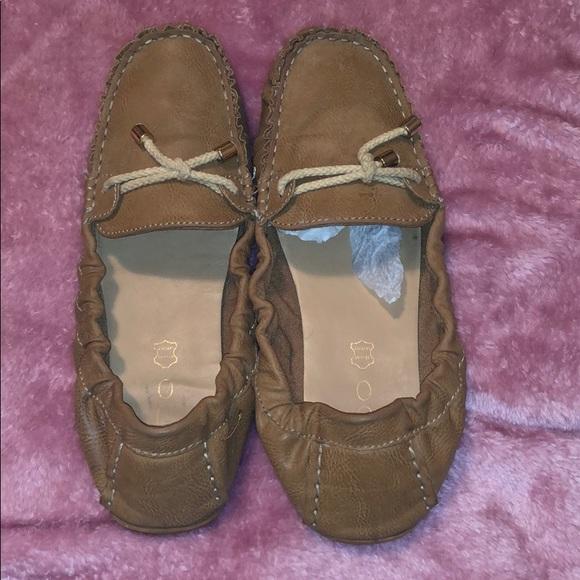 f09476039f5 Aldo Genuine Leather Brown Flats